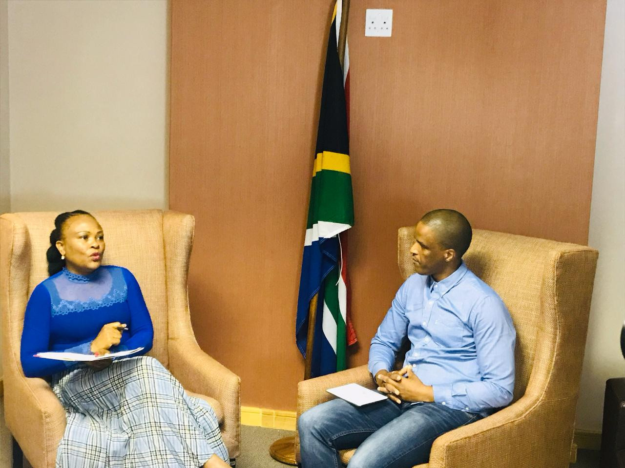 Frontline Conversations with Advocate Busisiwe Mkhwebane