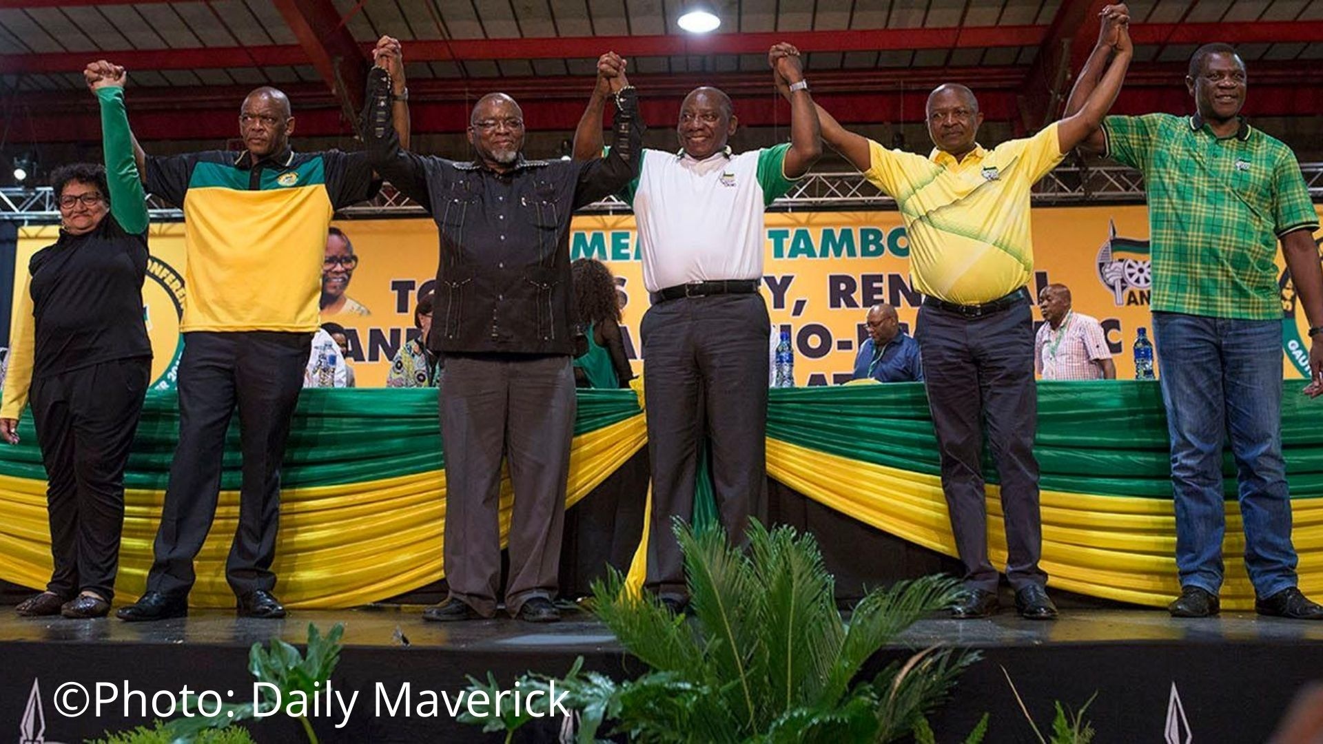 ANC in Crisis? Where to for South Africa?