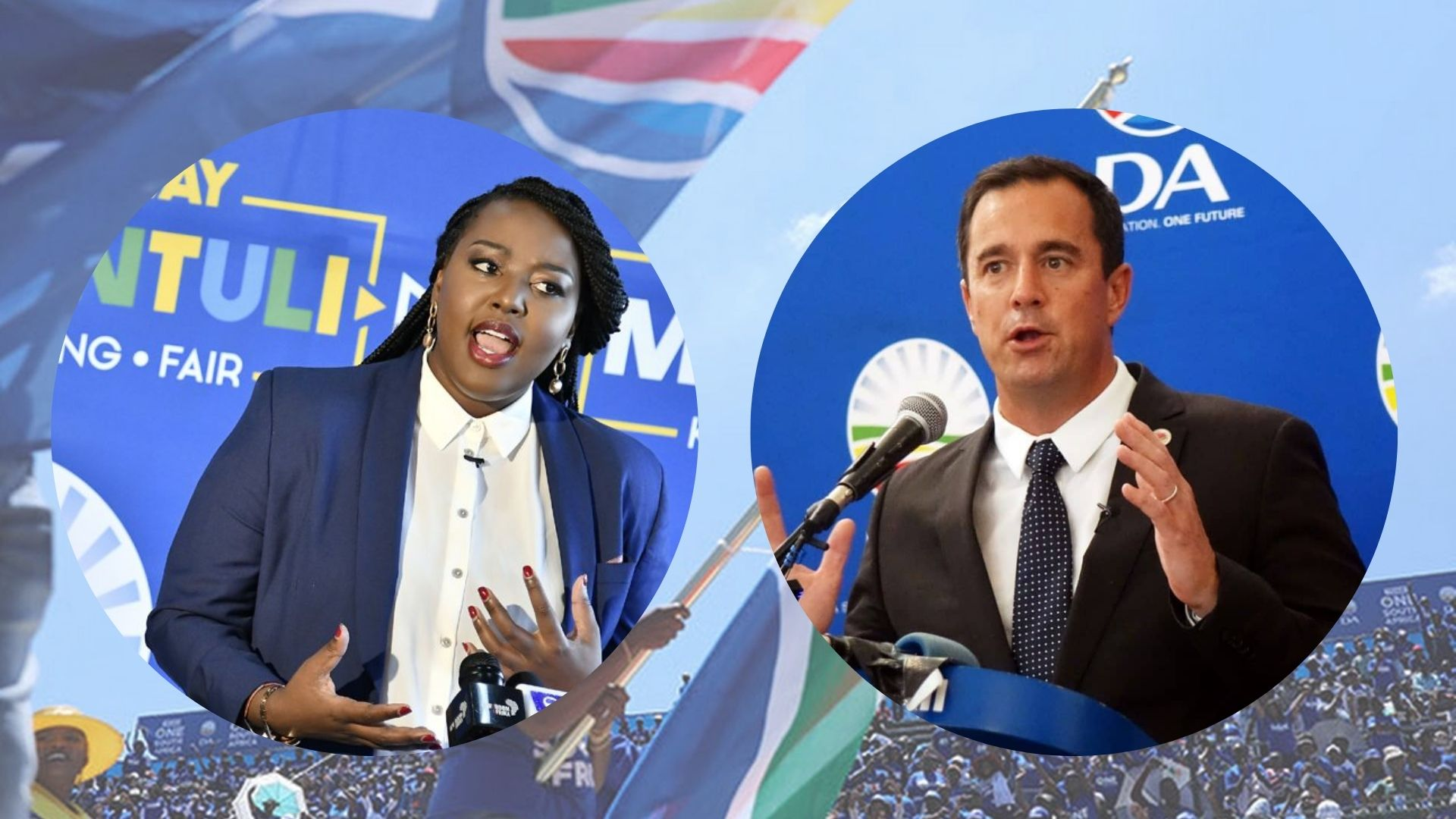 Leadership race between Ntuli and Steenhuisen accentuates DA's race (and ideological) dilemma