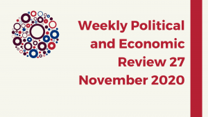 Weekly Political and Economic Review 27 November 2020