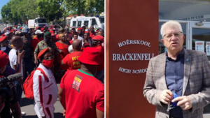 EFF Protest to Brackenfell Highschool in the broader battle for SA soul