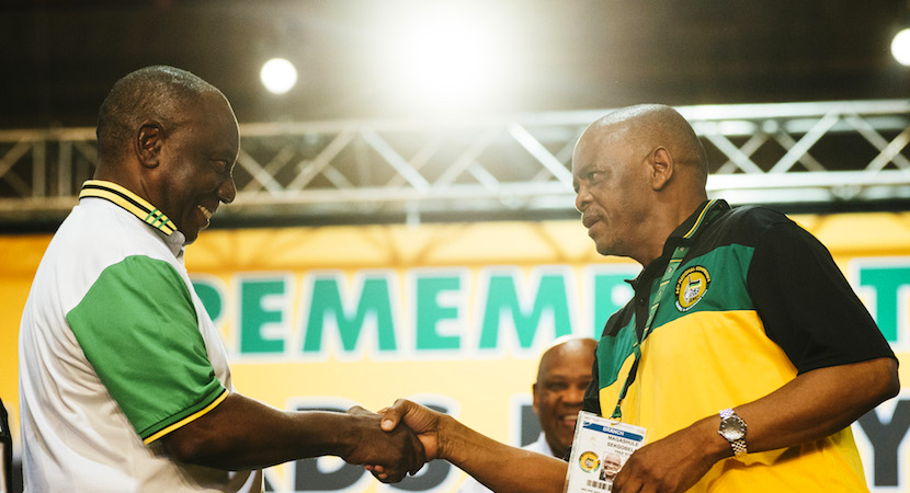 ANC: Will the Centre keep Holding?